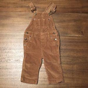 Osh Kosh Corduroy Overalls. Infant Size 12 MOS